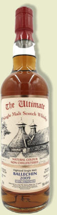 THE ULTIMATE BALLECHIN 11Y 2009 CASK STRENGTH